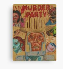 Murder Party Canvas Print