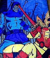 iron man by pinkyfizz