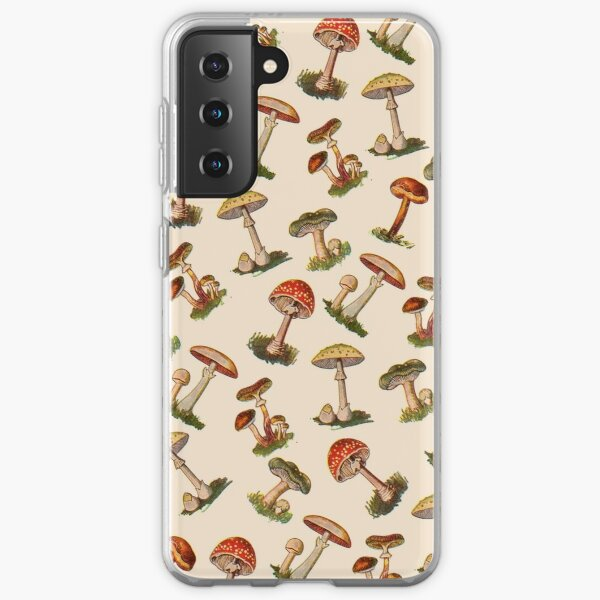 Mushrooms Samsung Galaxy Soft Case