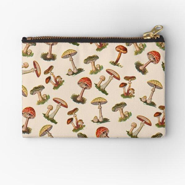 Mushrooms Zipper Pouch