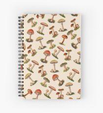 Mushrooms Spiral Notebook