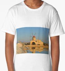 Traditional Sicilian Windmill Long T-Shirt