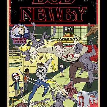 Bob Newby Comic Cover (Vintage) by opiester