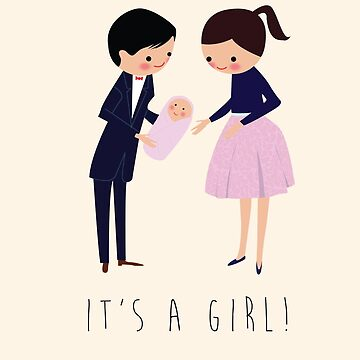 It's a Girl! by Lars
