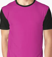 Red-Violet Graphic T-Shirt