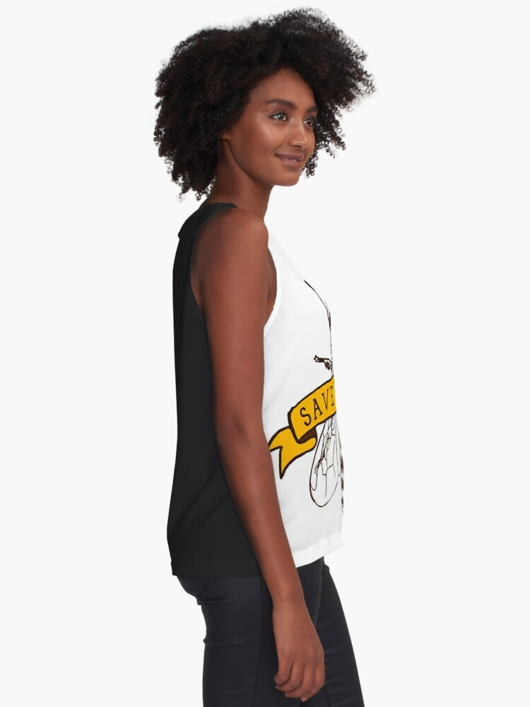 Alternate view of Save The Bees! Sleeveless Top