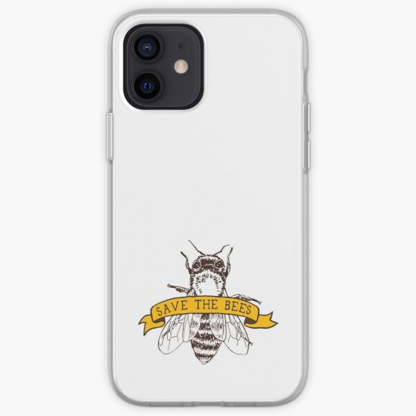 Save The Bees! iPhone Soft Case
