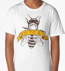 Save The Bees! Long T-Shirt