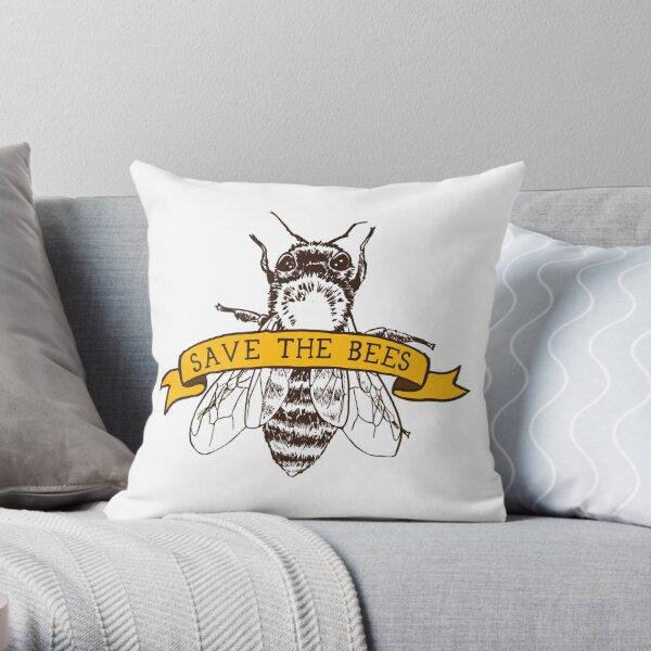 ¡Salva a las abejas! Cojín