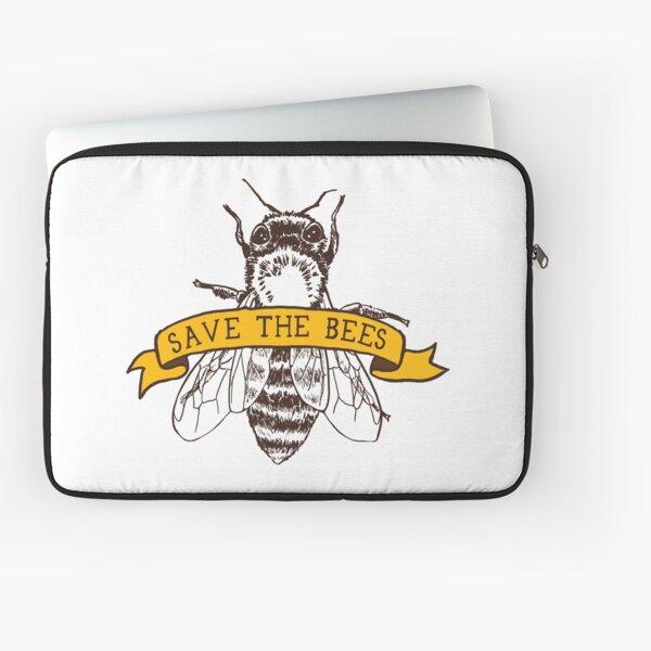 Sauvez les abeilles! Housse d'ordinateur