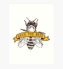 Lámina artística ¡Salva a las abejas!