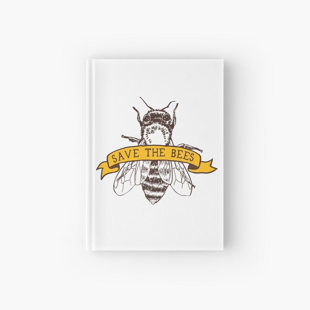 Save The Bees! Hardcover Journal