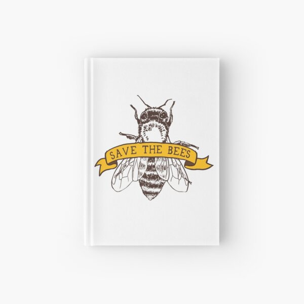 ¡Salva a las abejas! Cuaderno de tapa dura