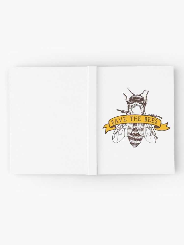 Alternate view of Save The Bees! Hardcover Journal
