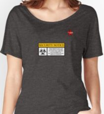 I.T HERO - Security Notice Women's Relaxed Fit T-Shirt