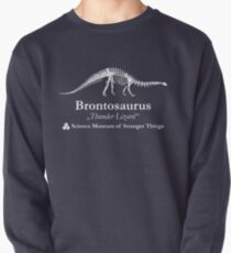 Dustin's Brontosaurus Skeleton Thunder Lizard Pullover