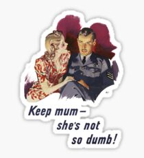 Cute 1940s Couple Sticker