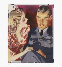 Cute 1940s Couple iPad Case/Skin