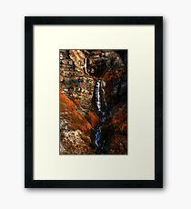 Bridal Veil Falls, Provo Canyon, Autumn Framed Print