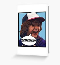 Dustin - Stranger Things Greeting Card