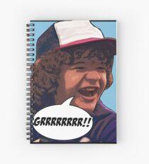 Dustin - Stranger Things Spiral Notebook