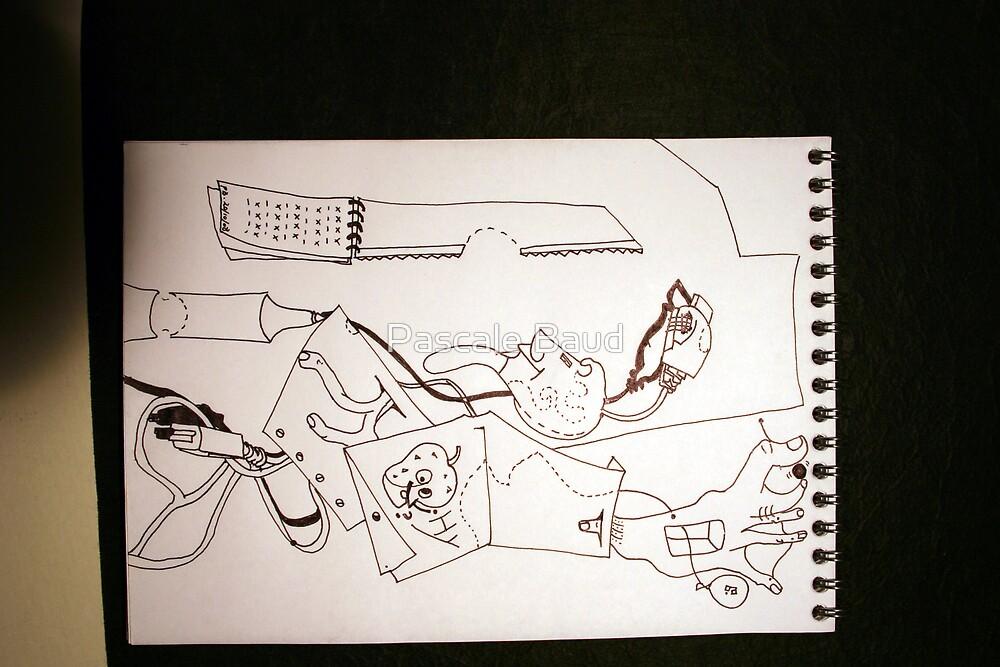 Petits Dessins Debiles - Smal Weak Drawings #35 by Pascale Baud