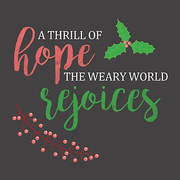 A Thrill of Hope | O Holy Night Christmas carol by LaunchMission