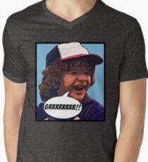 Dustin - Stranger Things Men's V-Neck T-Shirt