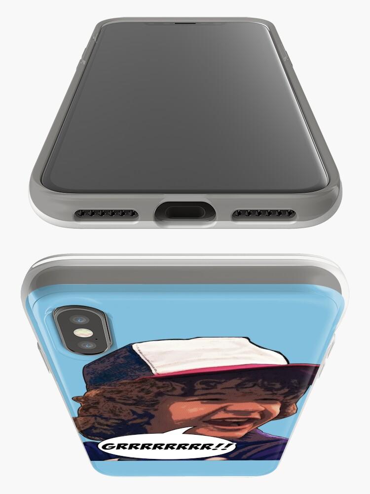 Alternative Ansicht von Dustin - Fremde Dinge iPhone-Hülle & Cover