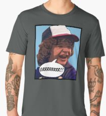 Camiseta premium para hombre Dustin - Cosas extrañas