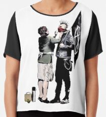 Banksy - Anarchist And Mother Chiffon Top