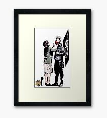 Banksy - Anarchist And Mother Framed Print