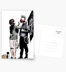 Banksy - Anarchist And Mother Postcards