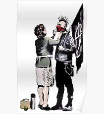 Banksy - Anarchist And Mother Poster