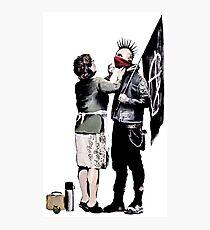 Banksy - Anarchist und Mutter Fotodruck