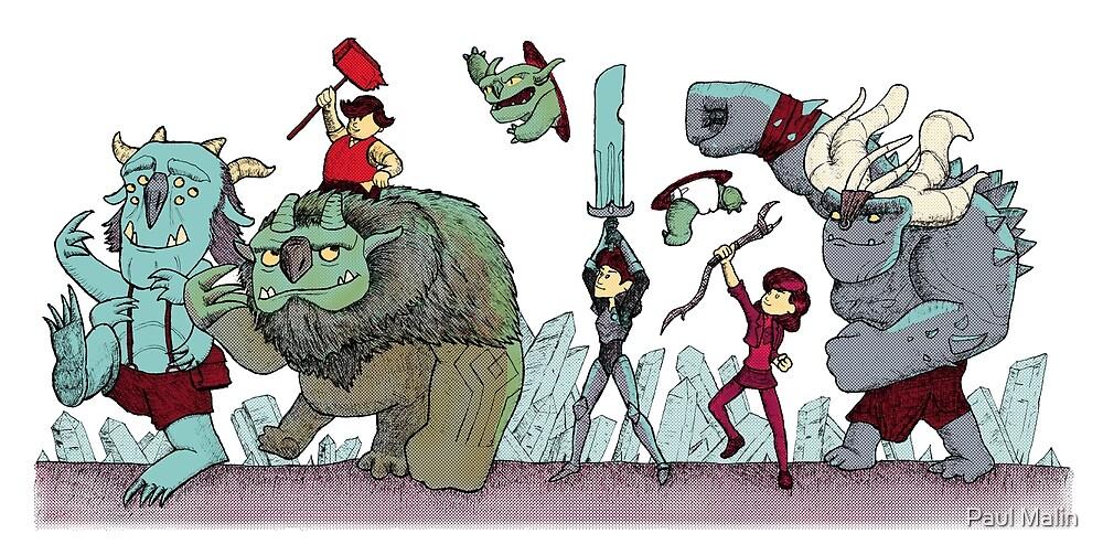 Trollhunters Parade by Paul Malin