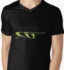 CELESTIAL VOYAGE Mens V-Neck T-Shirt