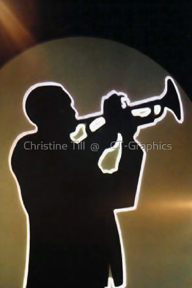 The Trumpet - A Font of Inspiration by Christine Till  @    CT-Graphics