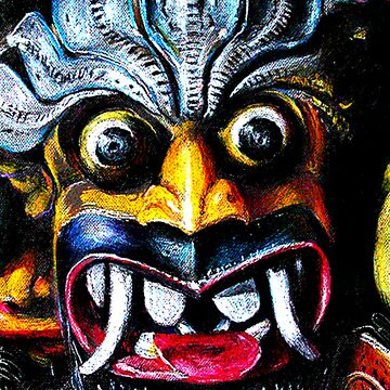 Sri Lankan Devil Dance Mask by AtulaSiriwardan