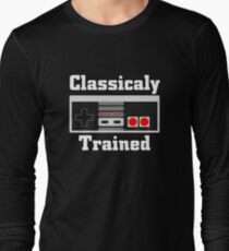 Classically Trained Old Nes Controller Gamer T-Shirt