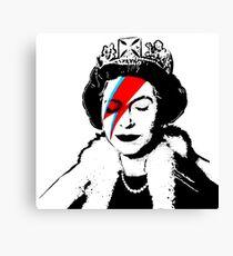 """Banksy - """"space queen"""" Canvas Print"""
