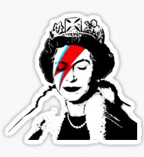 "Banksy - ""space queen"" Sticker"