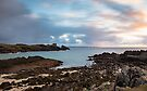 Sunset at Split Rock, Clachtoll, Assynt, Scotland by Cliff Williams