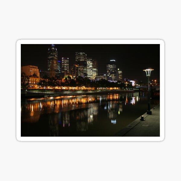 Melbourne Lamplight Sticker