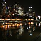 Melbourne Lamplight by John Dalkin