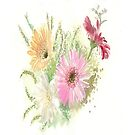 Watercolour by Catherine Hamilton-Veal  ©