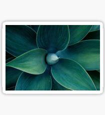 Floral green pattern Sticker