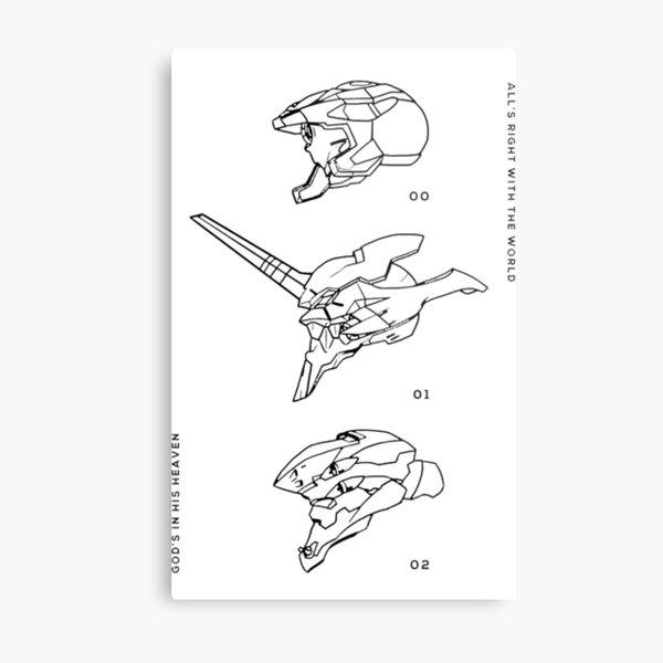 Eva Units  Metal Print