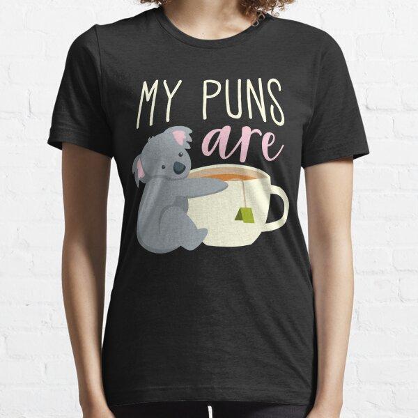 Mis pompas son té de koala Camiseta esencial