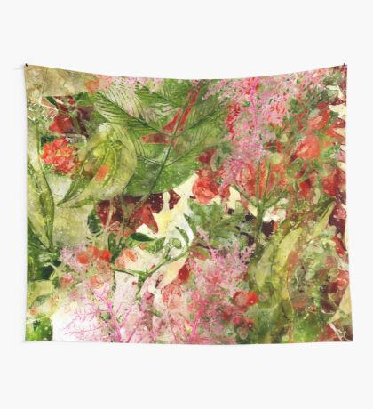 flowers pattern 32 #flowers #flora #pattern Wall Tapestry